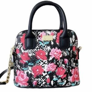 NWT Betsey Johnson Luv Betsey Darcie Satchel 🛑
